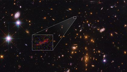 Behold Hubble's Best Image of a Distant Galaxy Yet