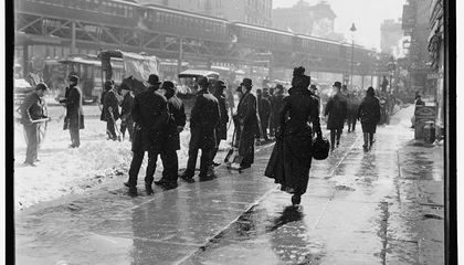 Watch the First Ever NYC Blizzard Caught on Film