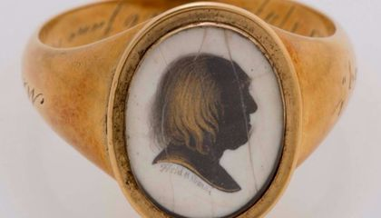 Experts Are Searching for a 19th-Century Philosopher's Strange Memorial Rings