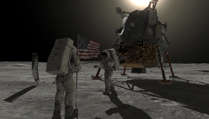 The Augmented Reality App That Lets You Experience the Moon Landing