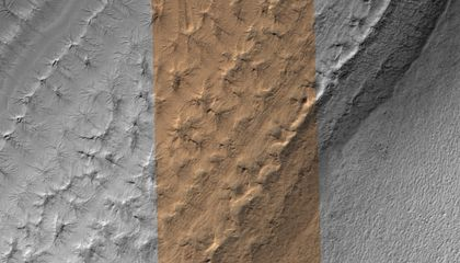 More Lakes Found Under the Martian Ice