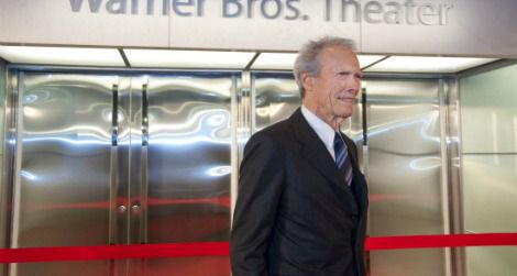 Clint Eastwood at the opening of the Warner Bros. Theater