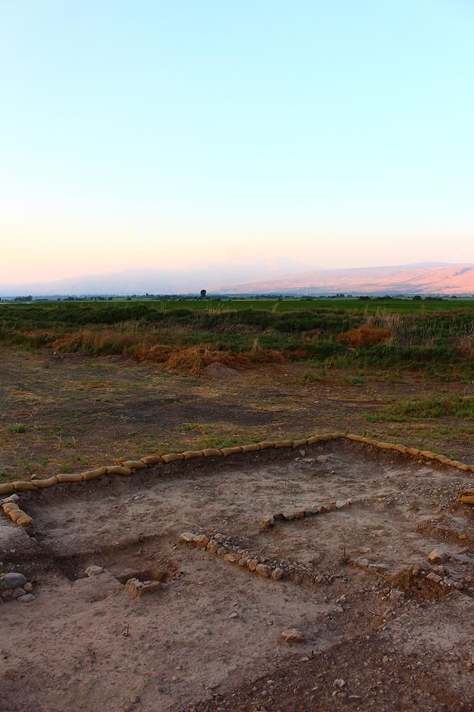 Beisamoun Neolithic site in Israel