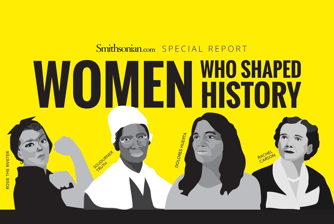 women who shaped history history smithsonian