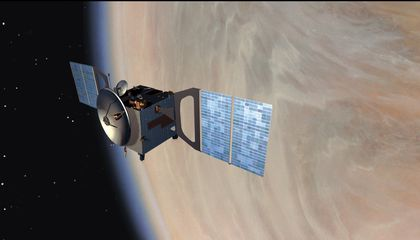 This Satellite's Last Act Will Be Skydiving Through Venus' Atmosphere