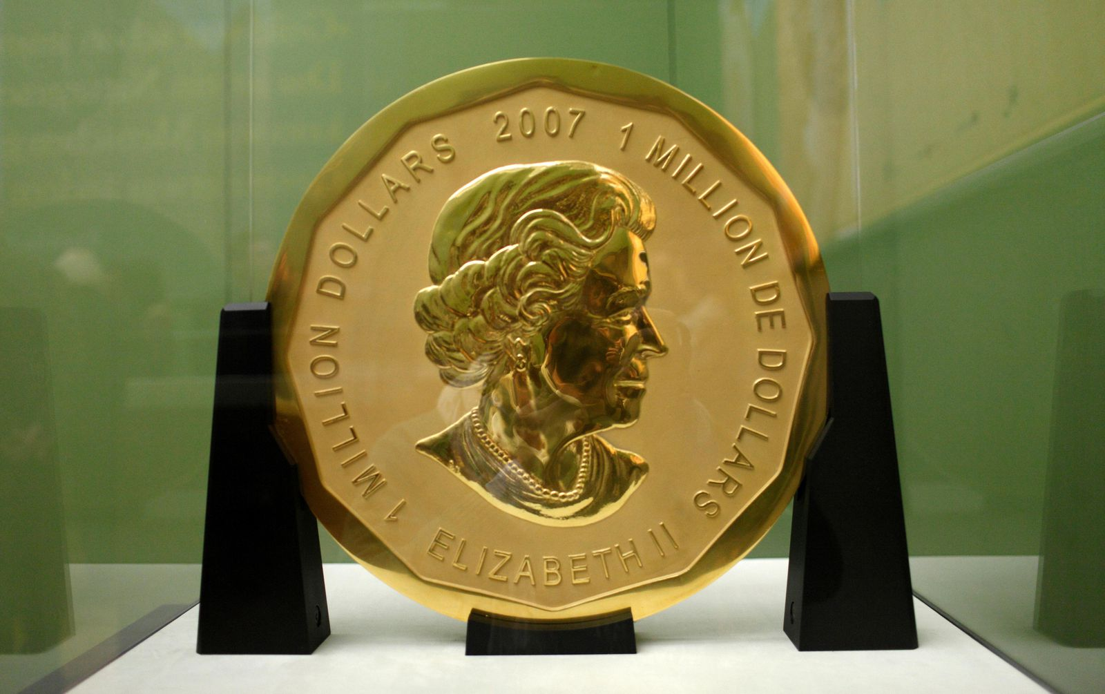 Berlin Court Sends Three Suspects to Prison for Theft of Giant Gold Coin Worth $4 Million