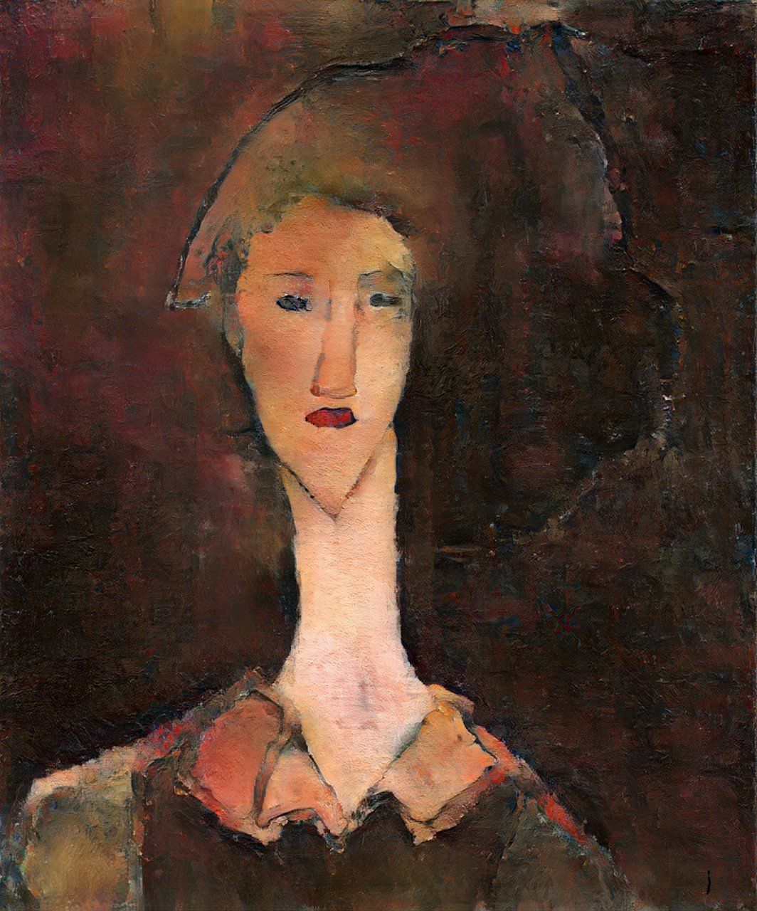 Did Modernist Master Modigliani Paint a New Portrait Over a Likeness of His Ex?