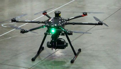 Cage of Drones