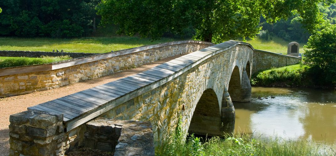 Burnside Bridge, Antietam battlefield