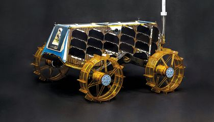 A Tiny Moon Rover With a Big Impact