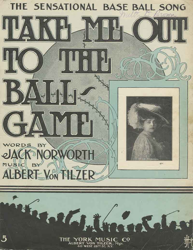 Cover of Take Me Out to the Ball Game