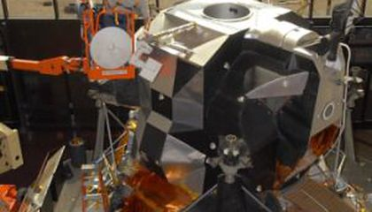 Apollo Lunar Module Gets a Facelift