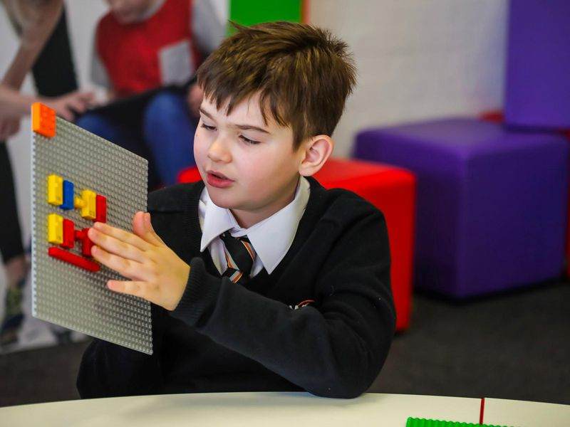 New Legos Are Designed to Help Visually Impaired Children