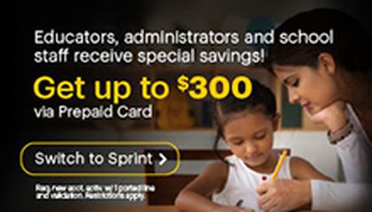Image: Sprint Provides Free Wireless Devices & Service to 1M Students