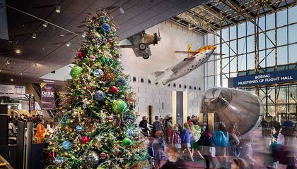 Christmas Day is the Only Day of the Year You Can't Go to the Smithsonian