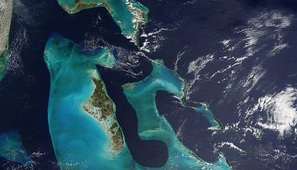 Saharan Dust Helped Build the Bahamas