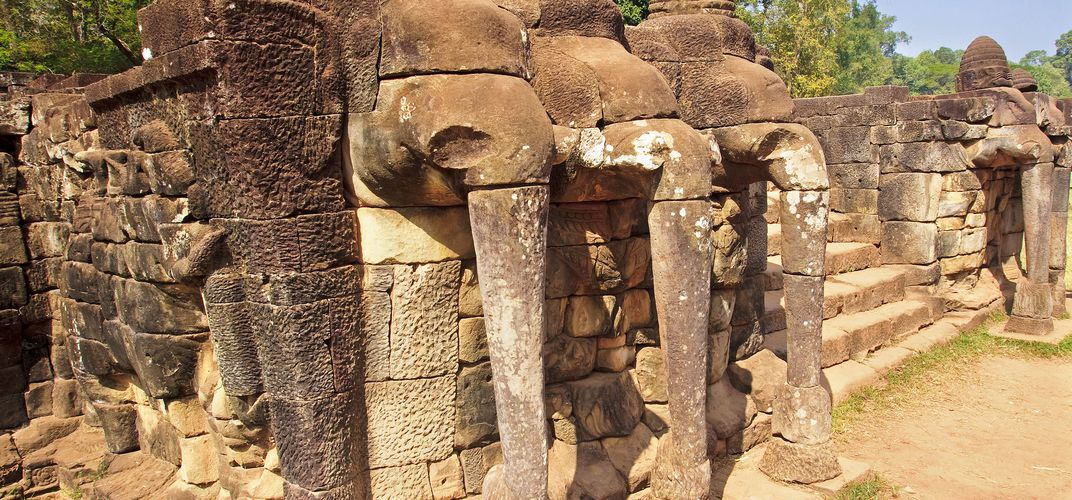 Elephant Terrace at Angkor Thom