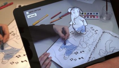 Thanks to Augmented Reality, These Coloring Books Come to Life