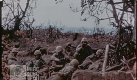 Preview thumbnail for video'U.S. Marine Corps Footage: Marines in the Field at Iwo Jima