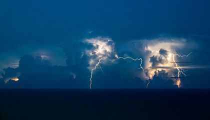 Why Are Lightning 'Superbolts' More Common Over the Ocean?