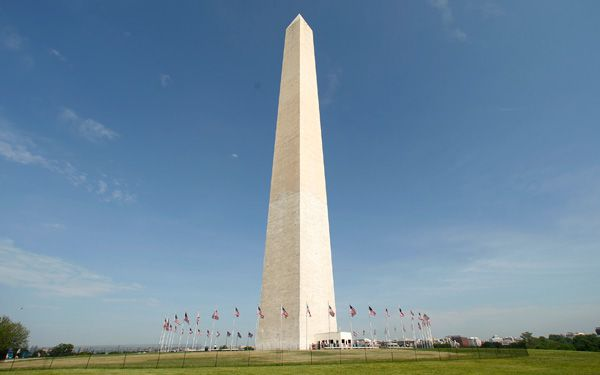 Has the Washington Monument shrunk?