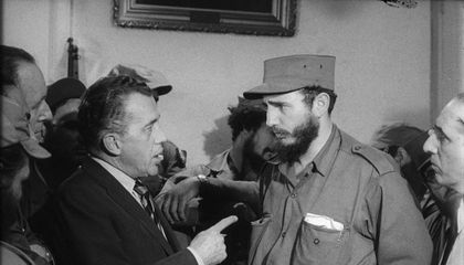 When Fidel Castro Charmed the United States