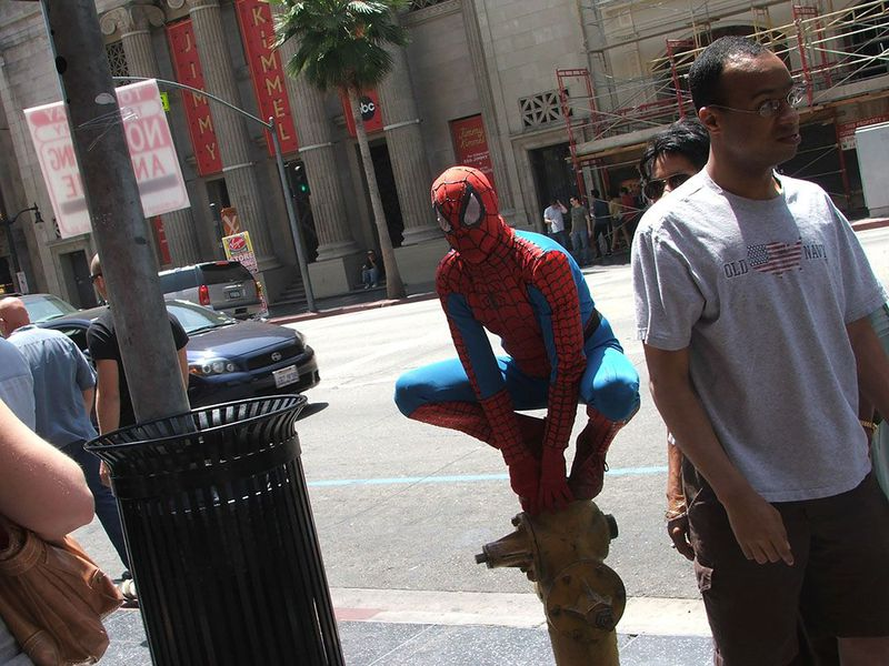 Urban spiderman