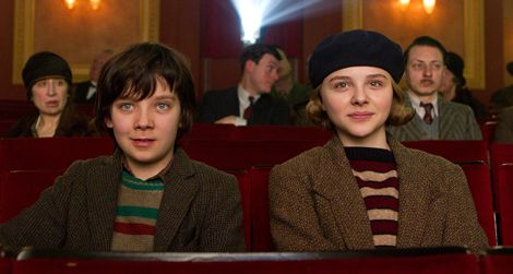 Asa Butterfield plays Hugo and Chloe Grace Moretz plays Isabelle in Hugo.