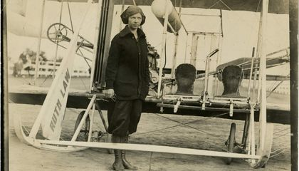 Suffragists Took to the Skies