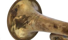 "Hartley Edwards Played ""Taps"" on this Bugle After World War I to Honor the Fallen"