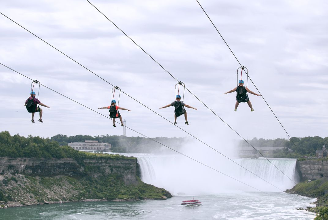 Care to zip over Niagara Falls?