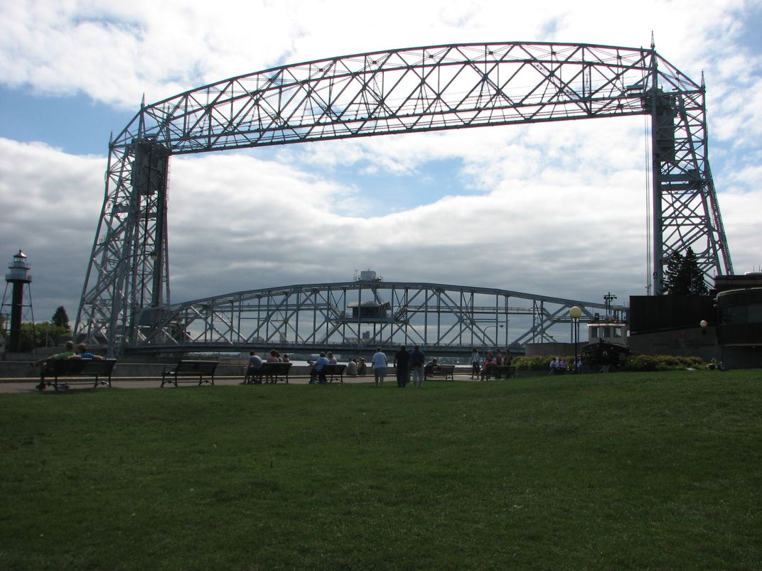 The Aerial Lift Bridge In Duluth Mn Smithsonian Photo Contest