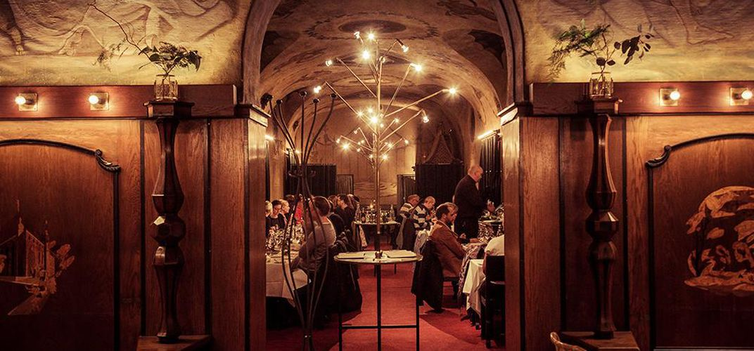 Caption: This Swedish Restaurant Serves Up Nobel Banquets