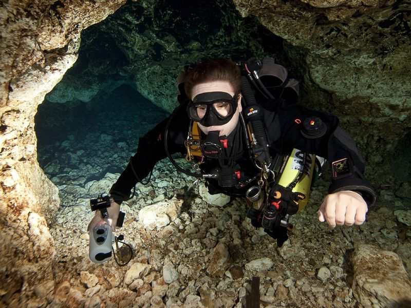 Cave Diving Is Often Toted As One Of The Most Dangerous