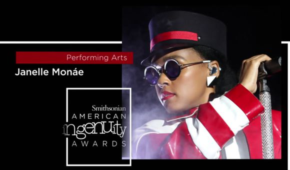 Preview thumbnail for video'Smithsonian Ingenuity Award Winner: Janelle Monáe