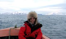 Abigail Tucker in Greenland