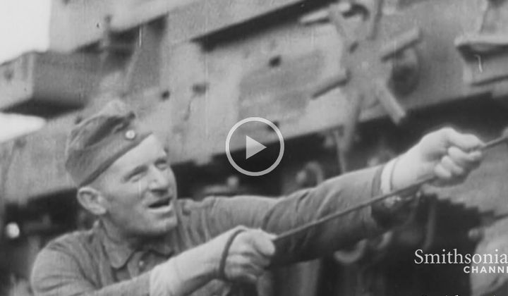 How Germans Turned Trains Into Massive Artillery in WWII