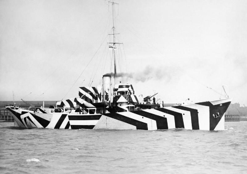 ca70b6c6d99 When the British Wanted to Camouflage Their Warships, They Made Them ...