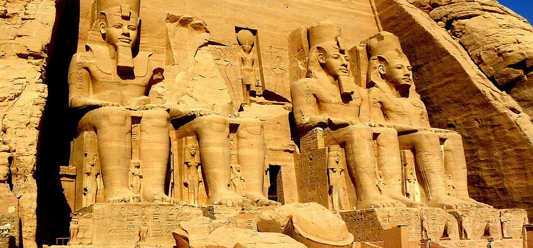 The Great Temple of Ramses II at Abu Simbel. Credit: Tony Ford