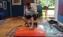 Inside the Brains of Artists Who Paint With Their Feet
