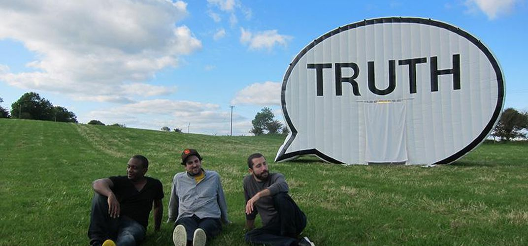 Caption: A Truth-Seeking Art Project Comes to D.C.