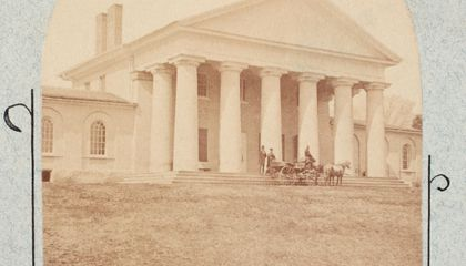 Rare Photo of Robert E. Lee's Slave Acquired by National Park Service