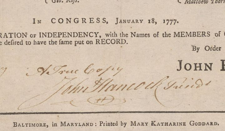 The Woman Who Signed the Declaration