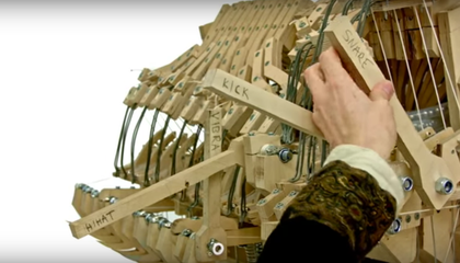 This Machine Makes Music With Marbles