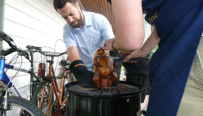 Put Another Beer-Can Chicken on the Barbie