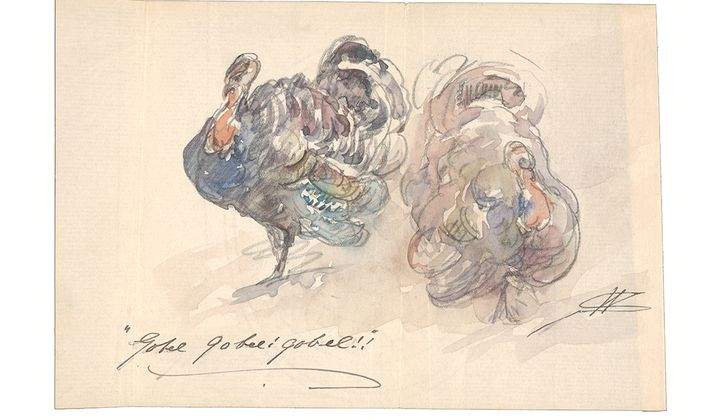 The Bird is the Word: Turkeys in the Archives