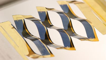 Using Kirigami, the Japanese Art of Paper Cutting, to Build Better Solar Panels