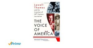 Preview thumbnail for video 'The Voice of America: Lowell Thomas and the Invention of 20th-Century Journalism