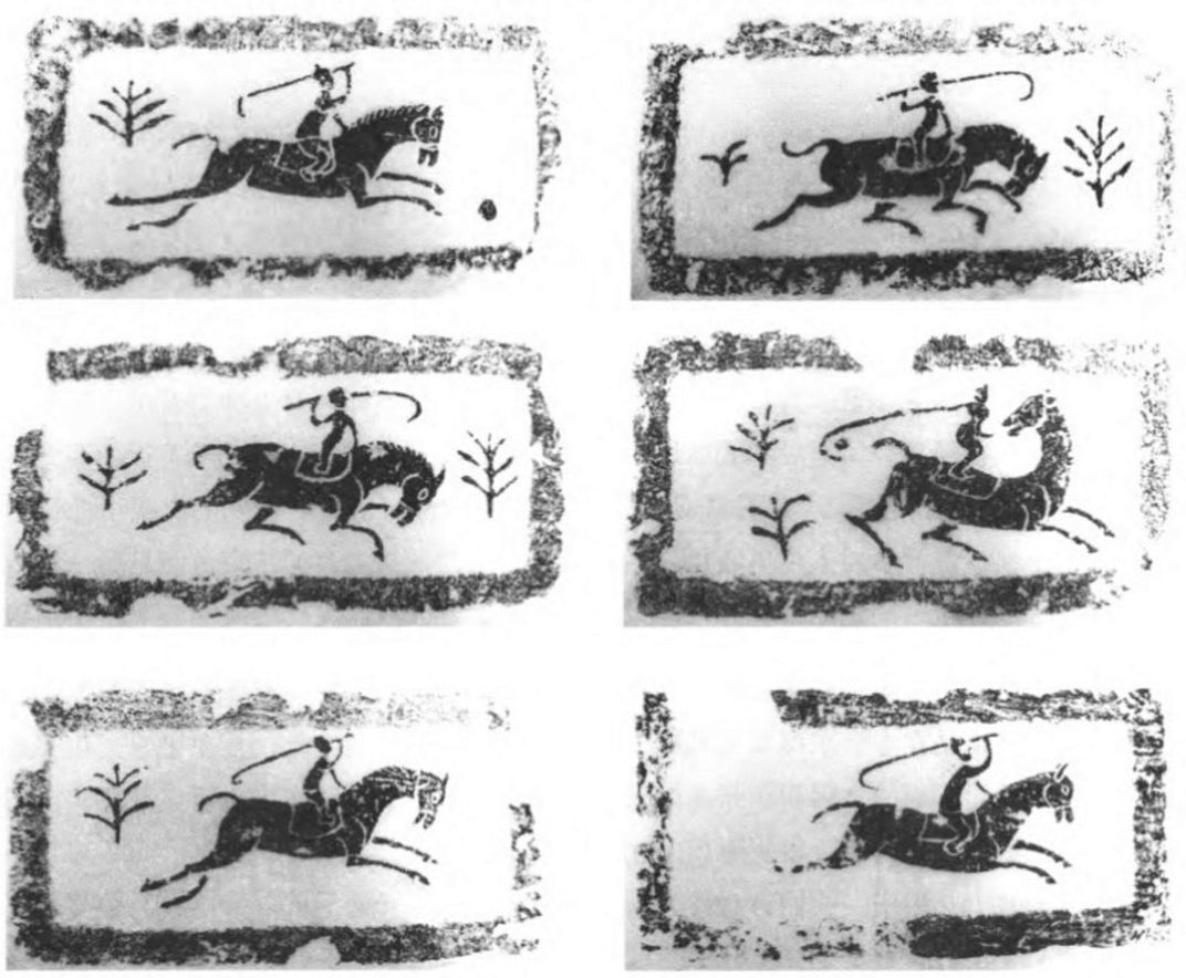 Ancient Chinese polo images