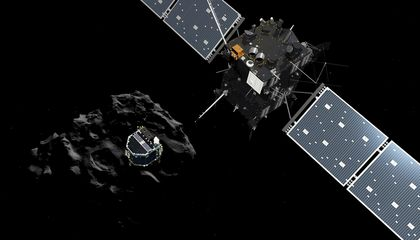 The Philae Spacecraft Confirmed the Presence of Organic Molecules on the Comet it Landed On
